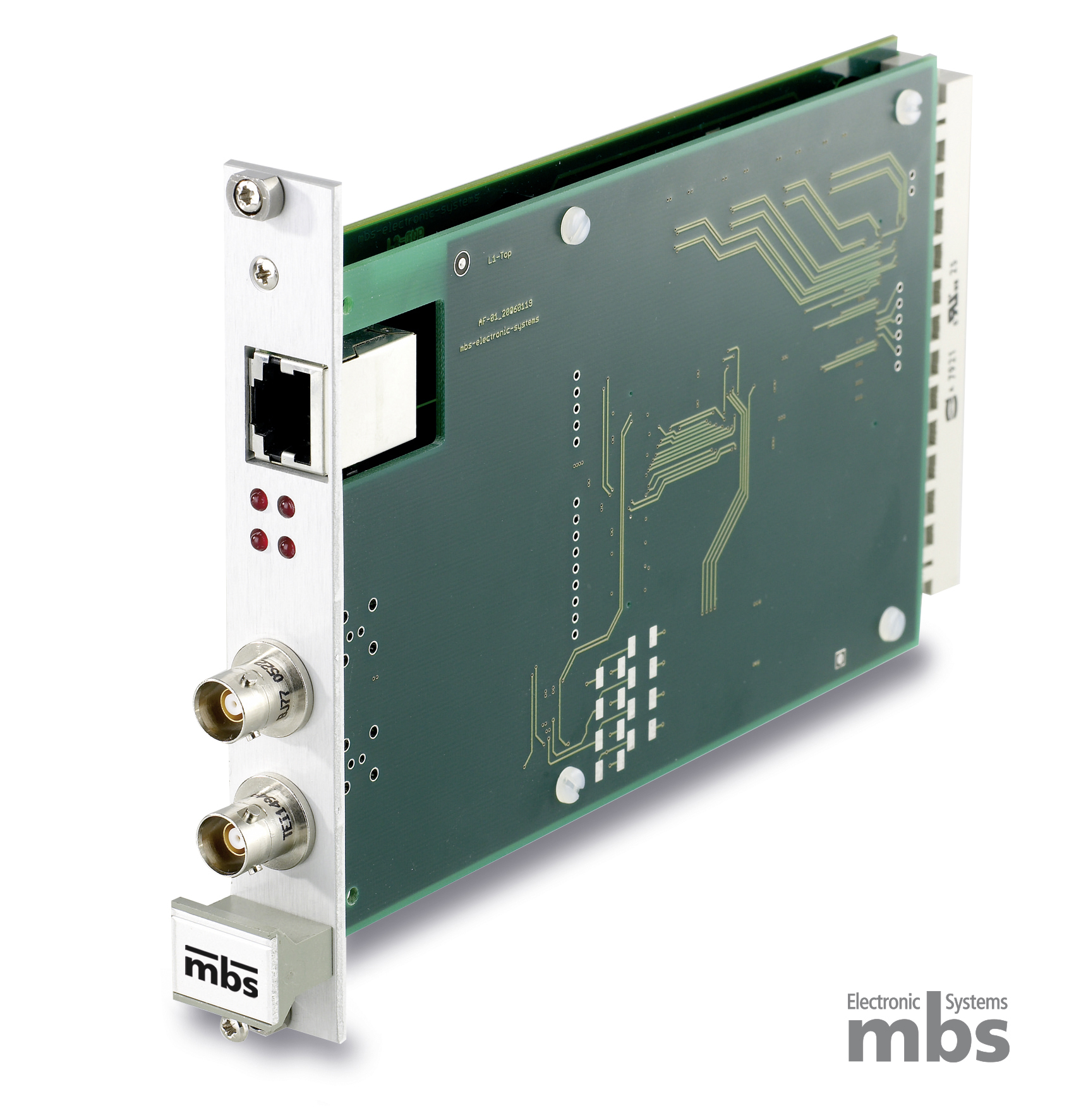 1553 Card | © Copyright by mbs Electronic Systems