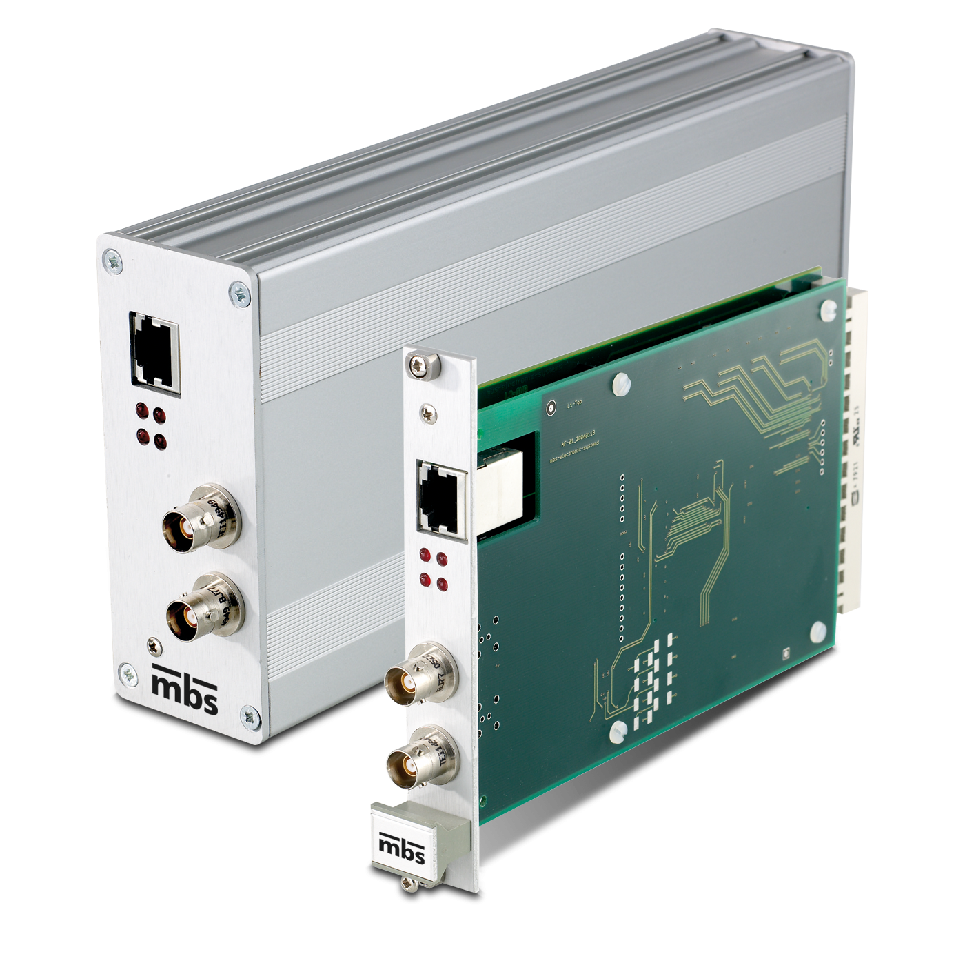 1553 Interface to Gigabit Ethernet : mbs electronic systems